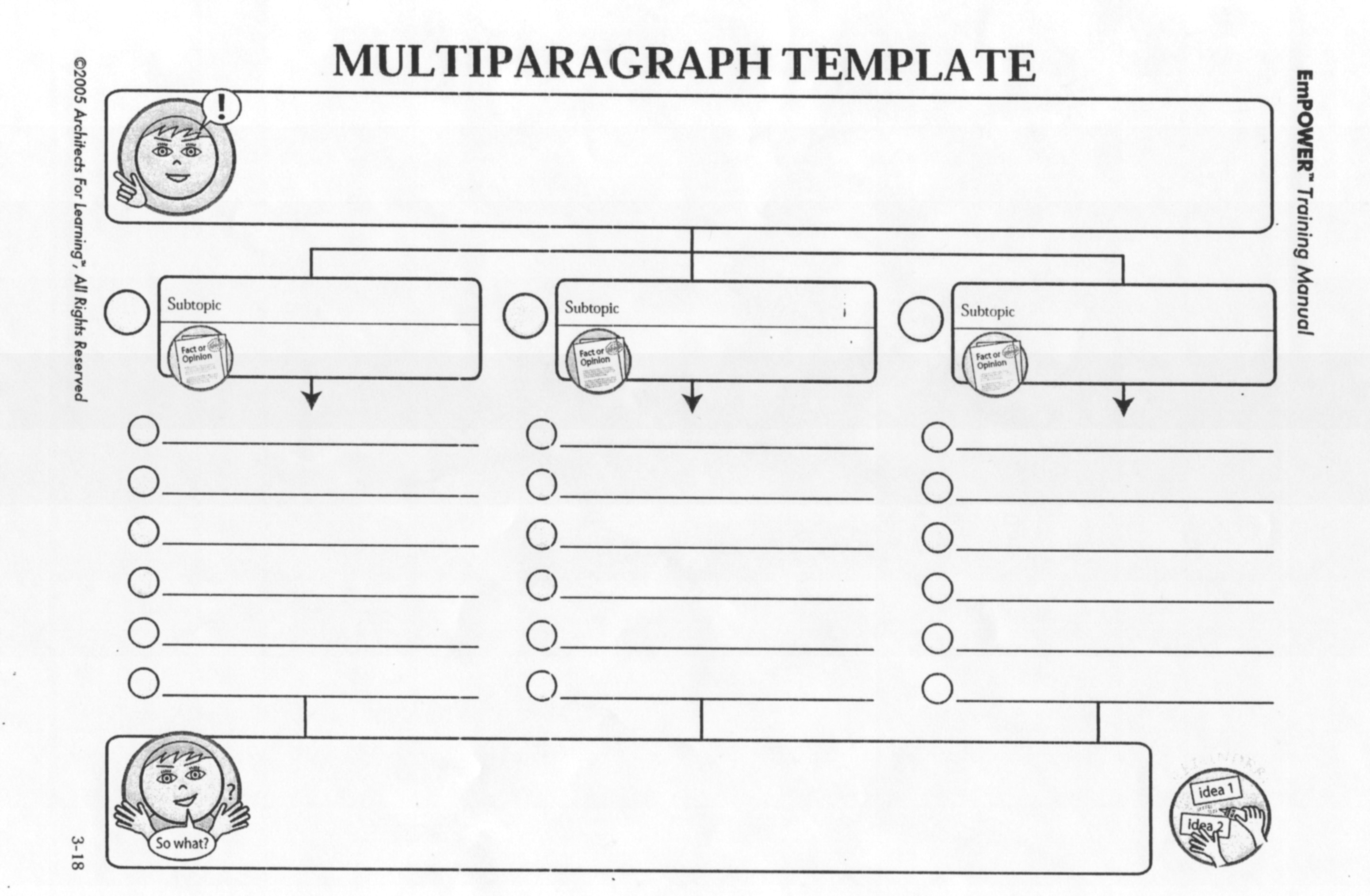 12 Best Images Of 4th Grade Paragraph Worksheets
