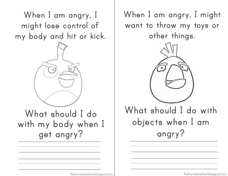 12 Best Images Of Free Anger Worksheets