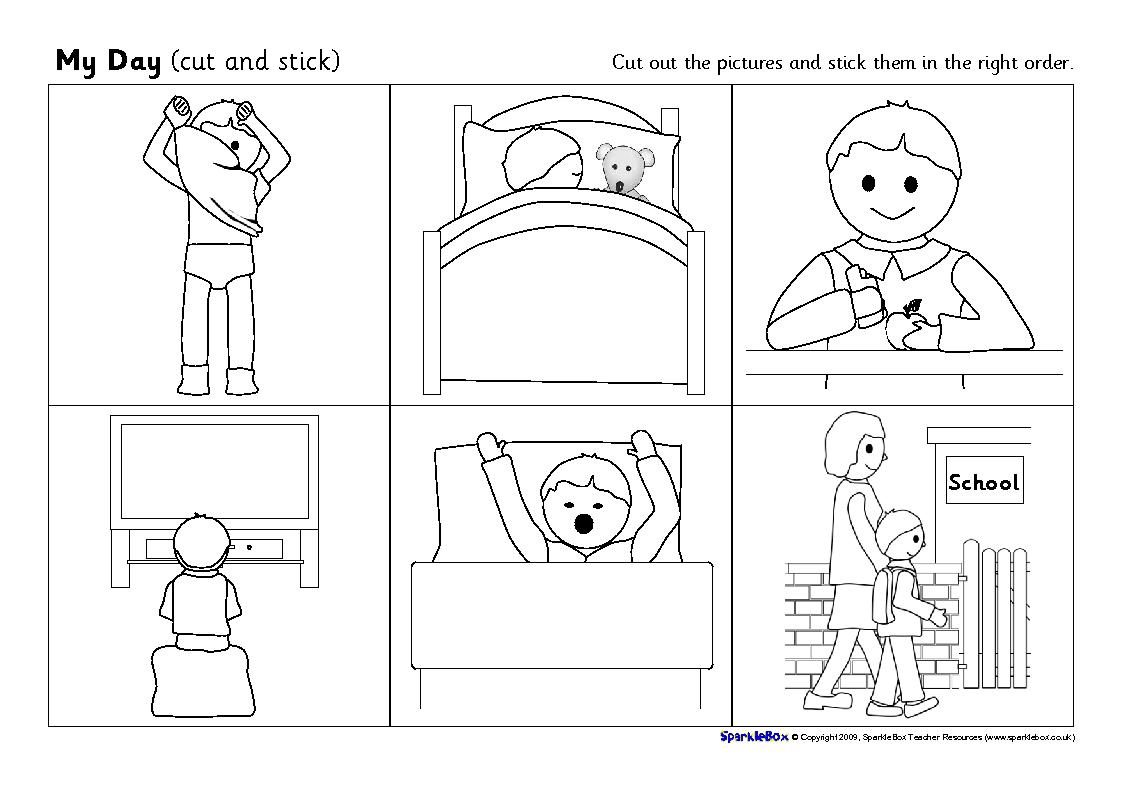 14 Best Images Of Morning Routine Worksheets
