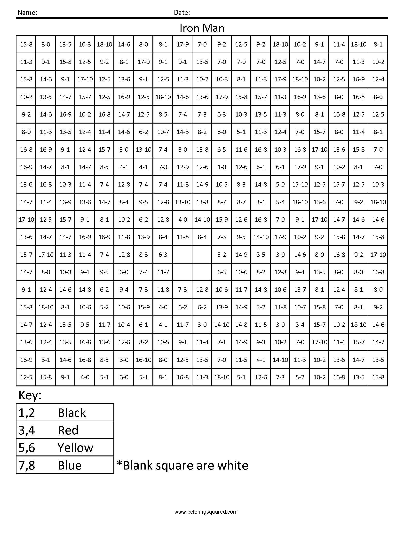 17 Best Images Of Superhero Math Worksheets