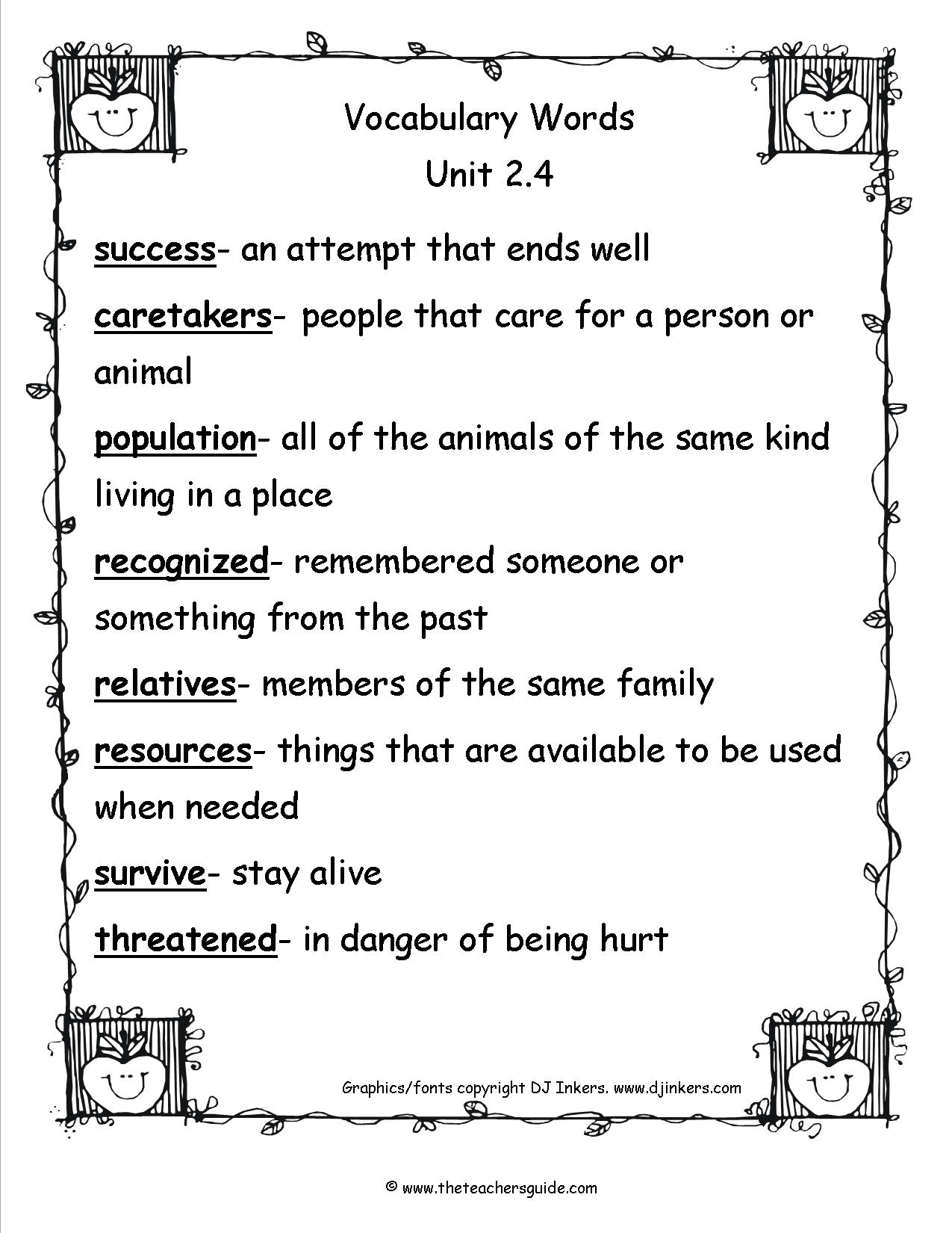 17 Best Images Of Career Vocabulary Worksheets