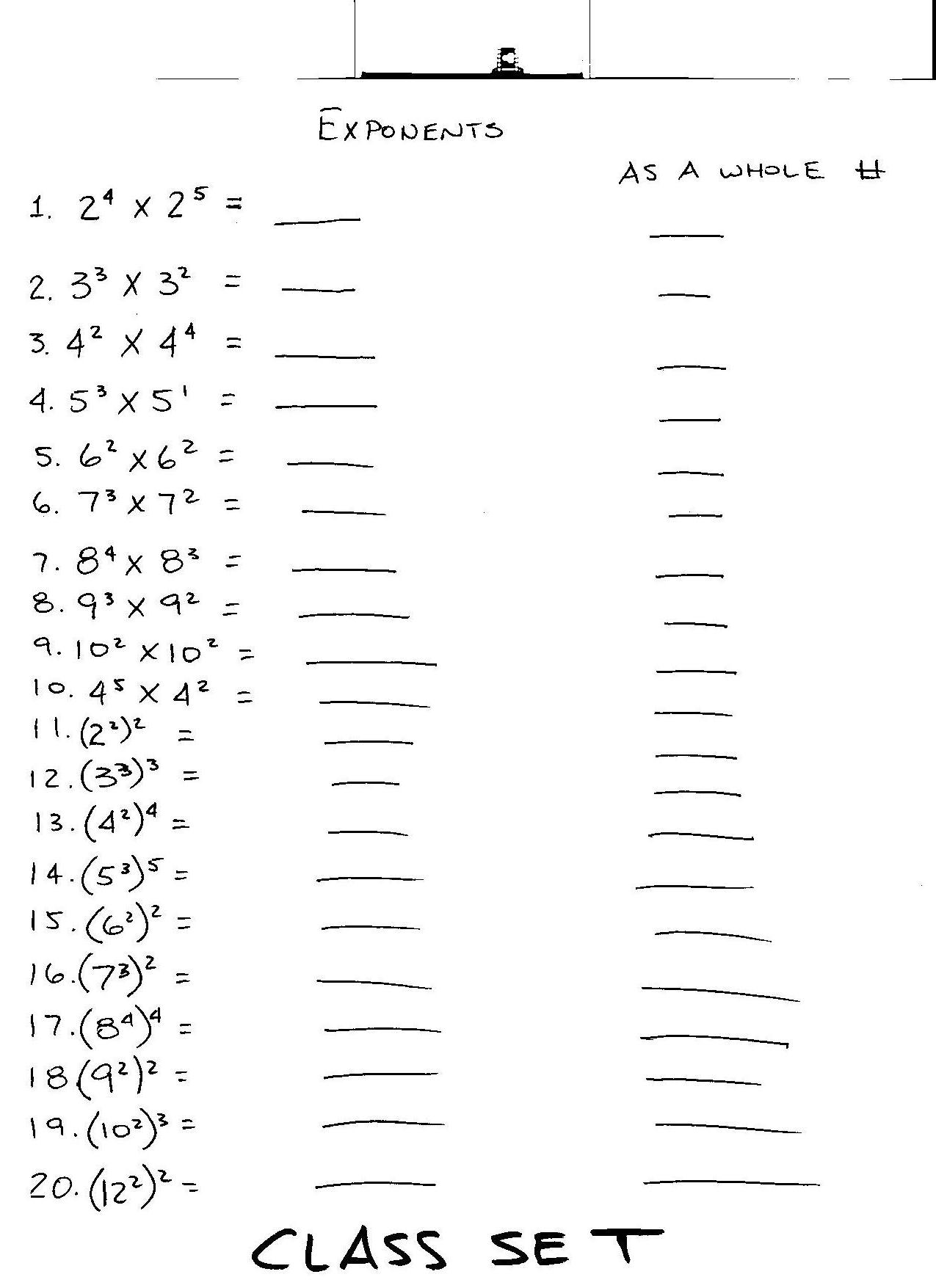 Printable 8th Grade Math Worksheets That Are Fan