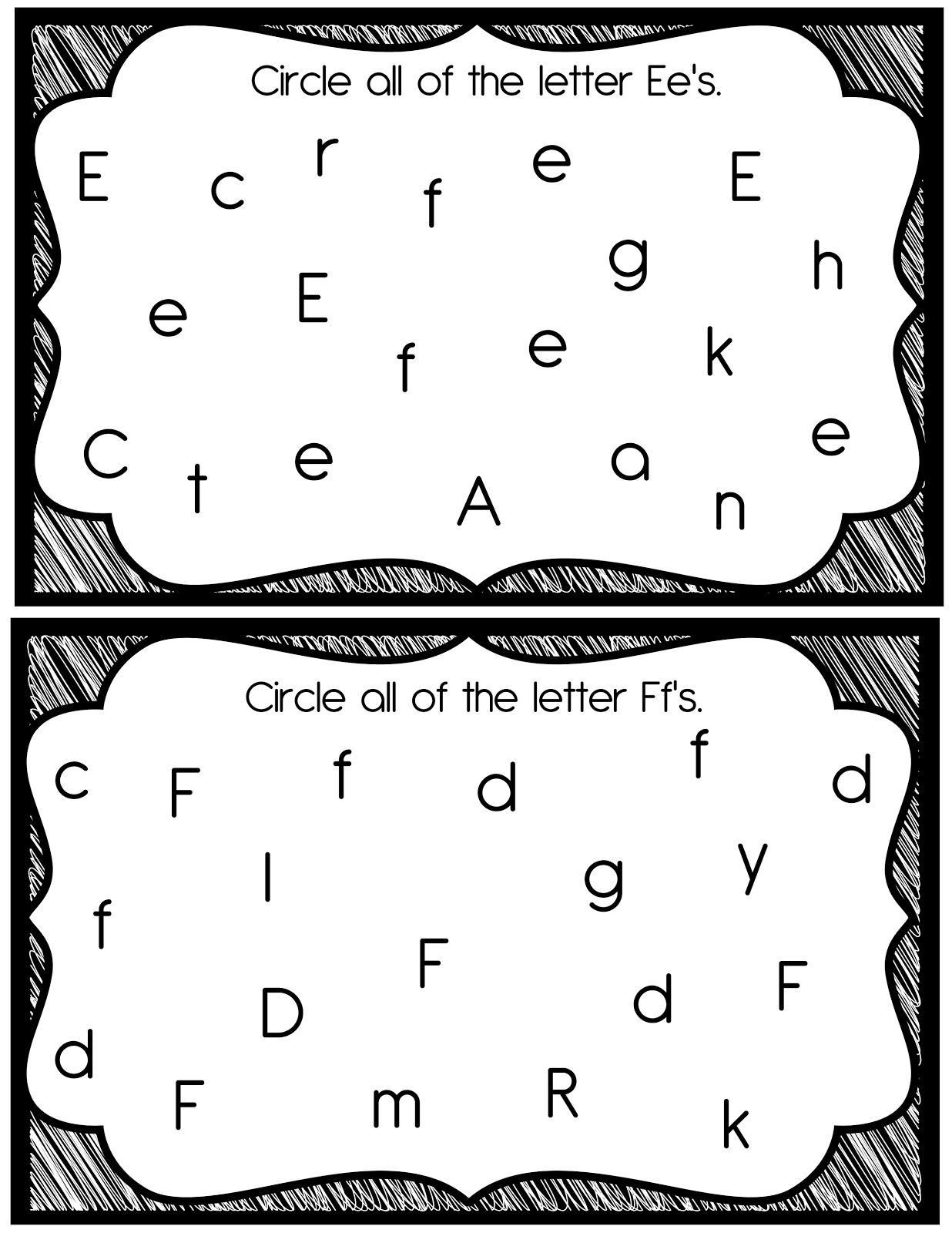 14 Best Images Of Find The Letter K Worksheet