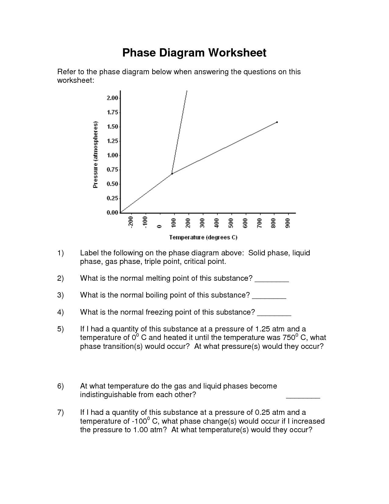 15 Best Images Of Phase Change Worksheet