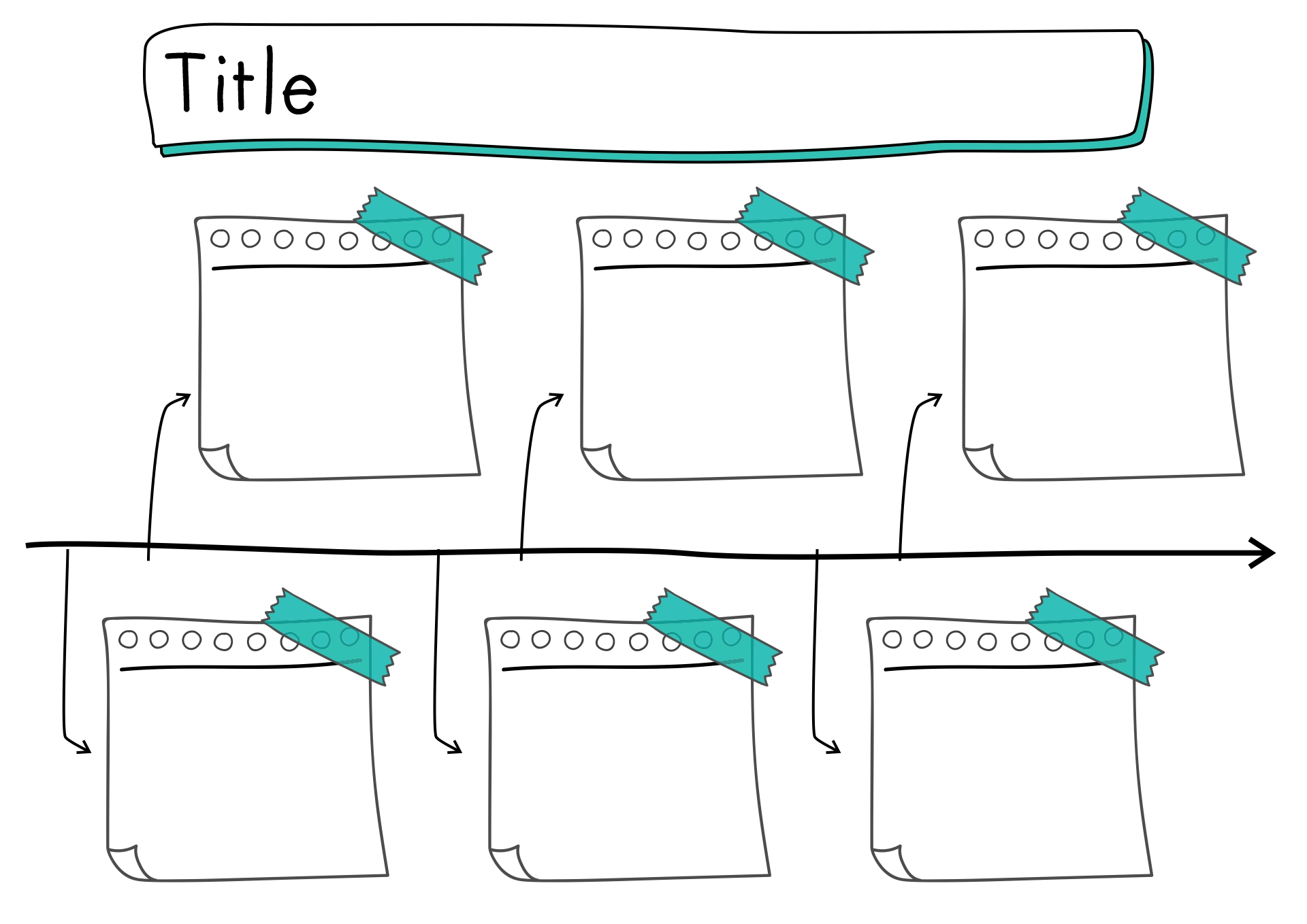 17 Best Images Of Blank Printable Timeline Worksheets