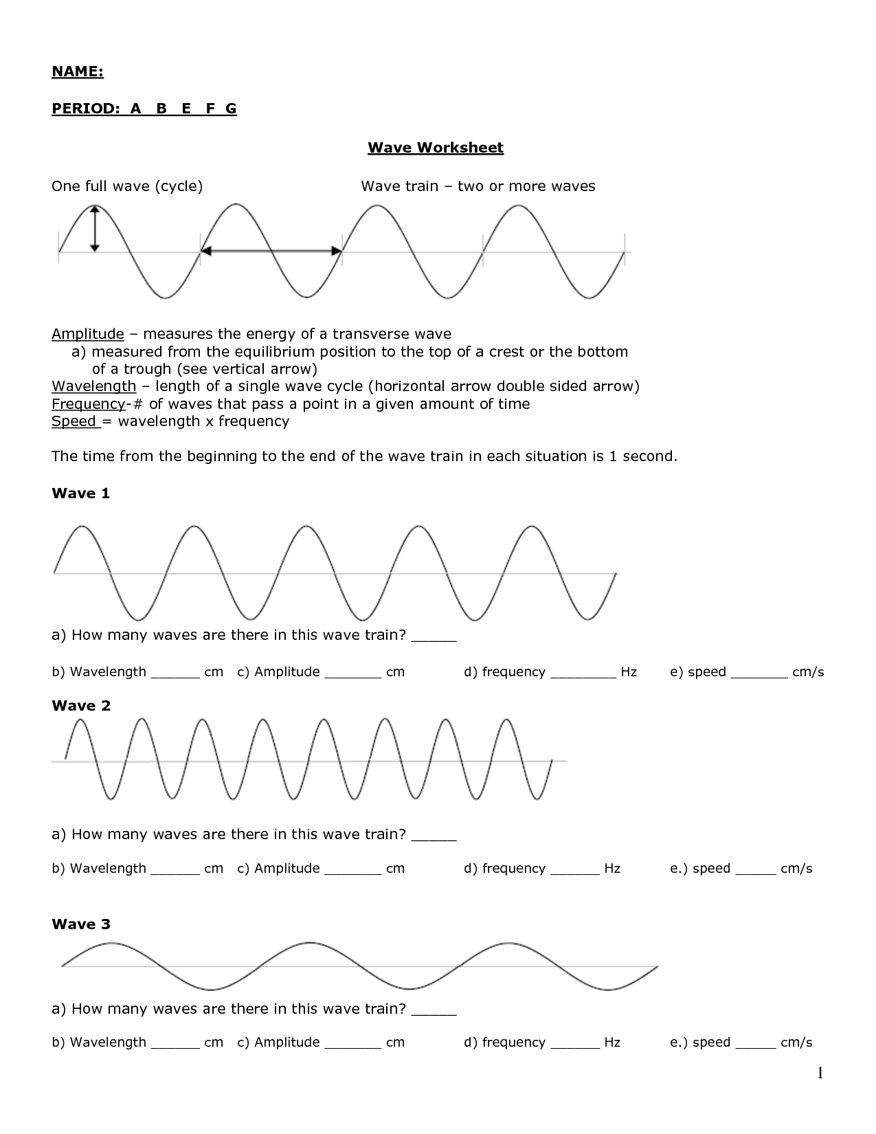 12 Best Images Of Sound Energy Worksheets