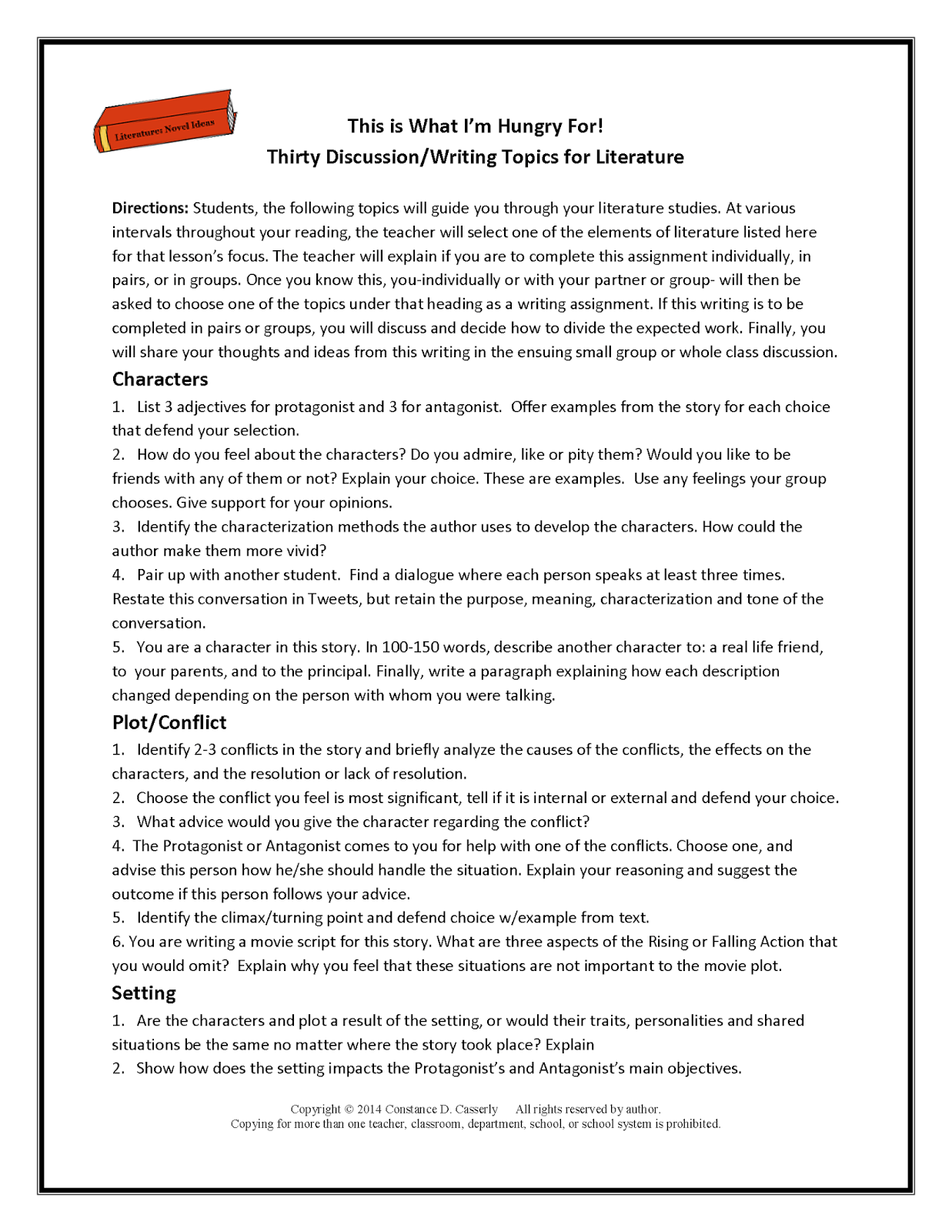 15 Best Images Of Reading Comprehension Worksheets Middle School