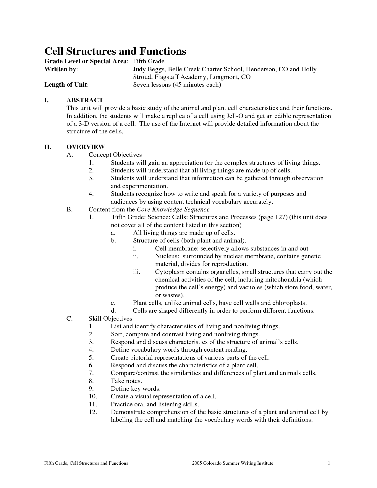 14 Best Images Of Cell Structure And Function Worksheet Answers