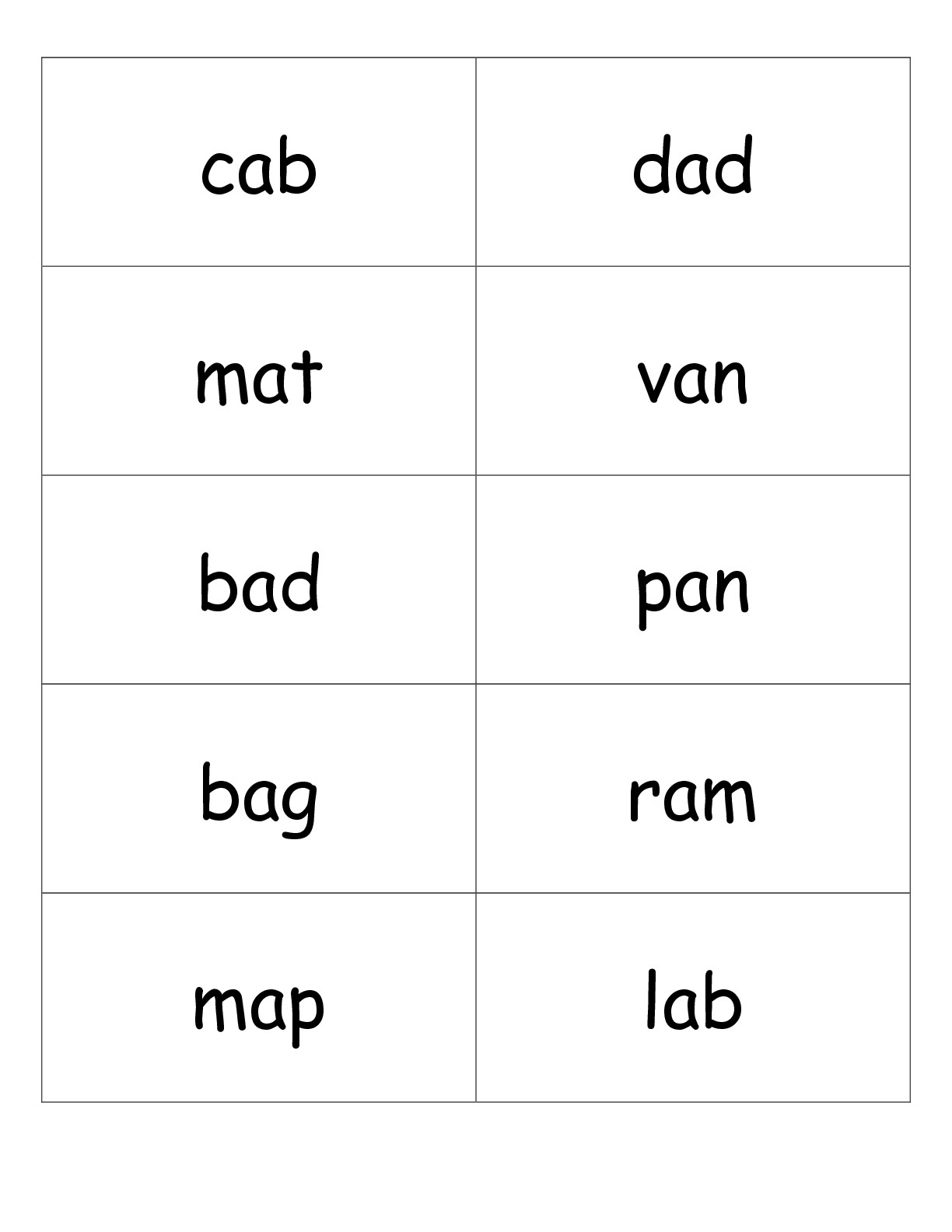 11 Best Images Of Two Vowel Words Worksheets