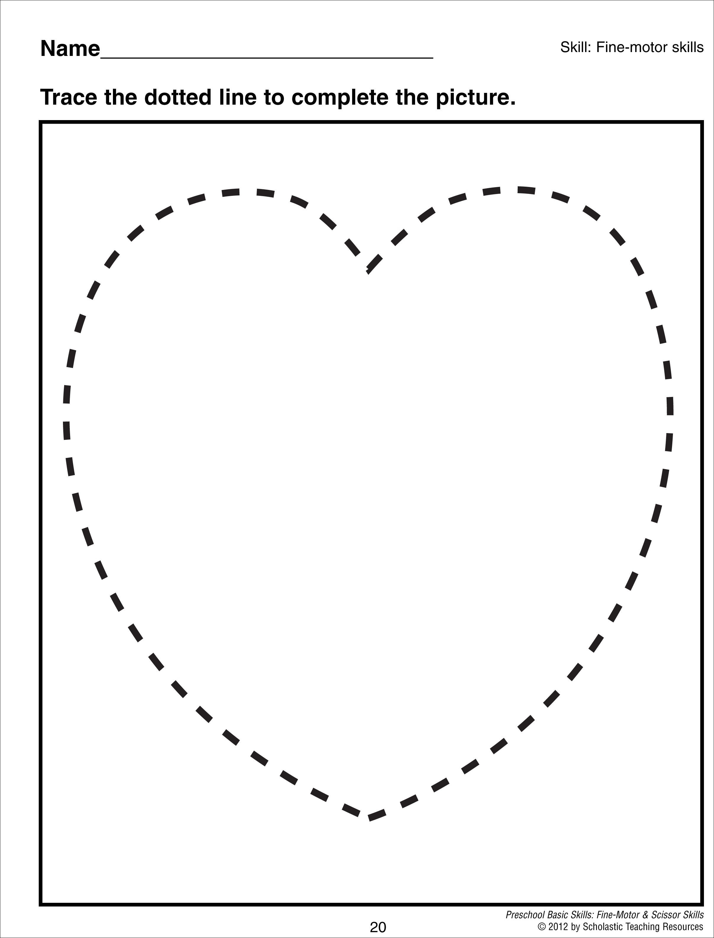 Preschool Worksheet Shape Review