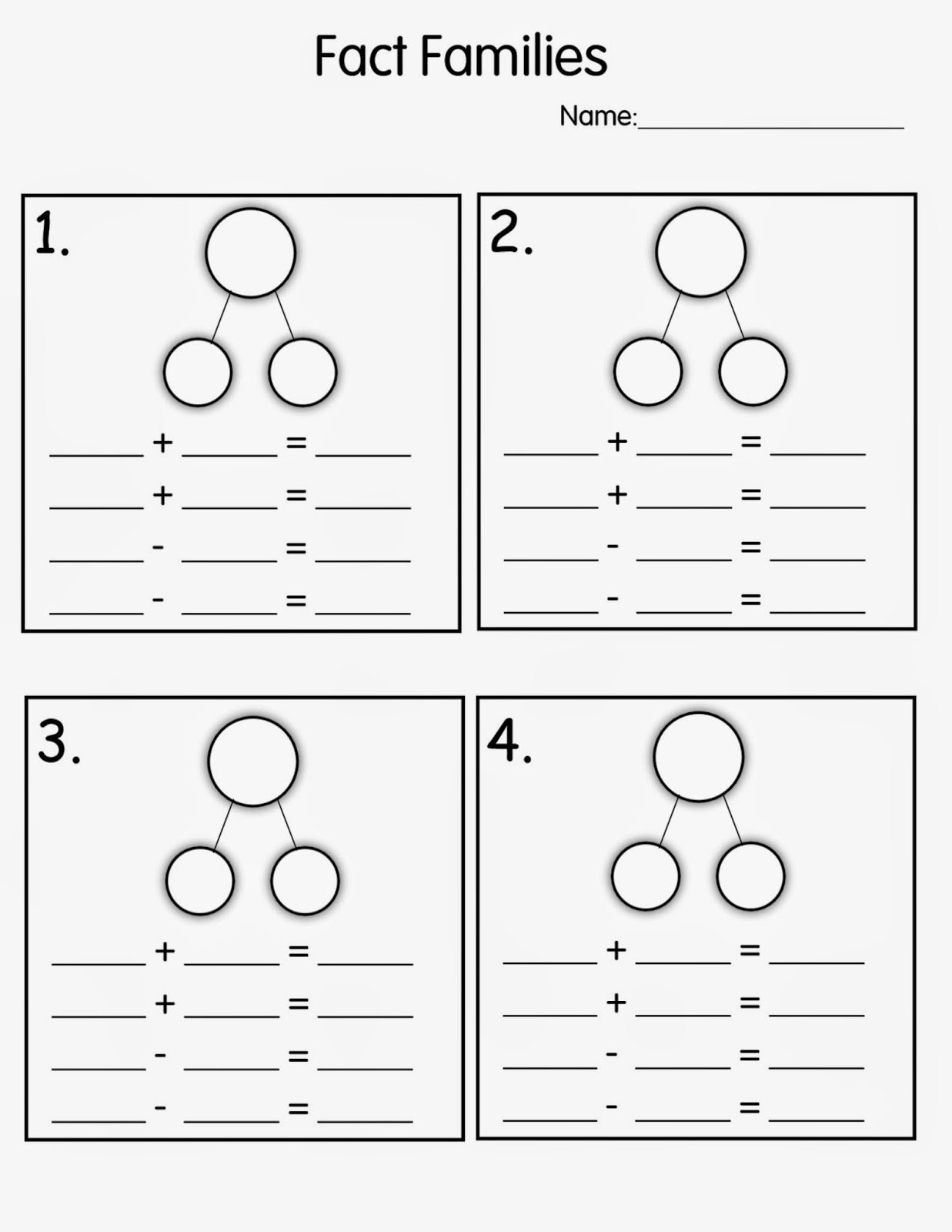 18 Best Images Of 2nd Grade Number Bonds Worksheets