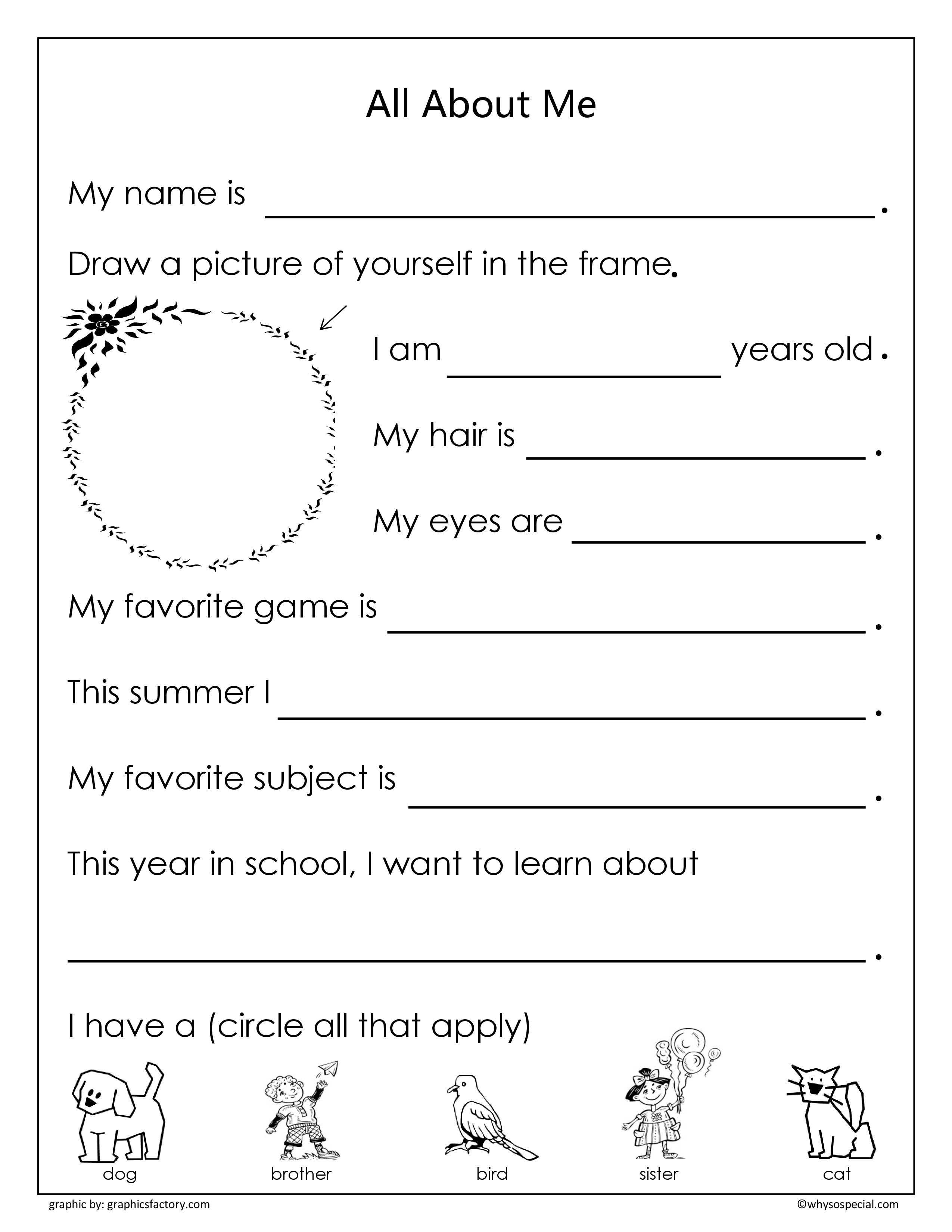 18 Best Images Of About Worksheet Autism Printable
