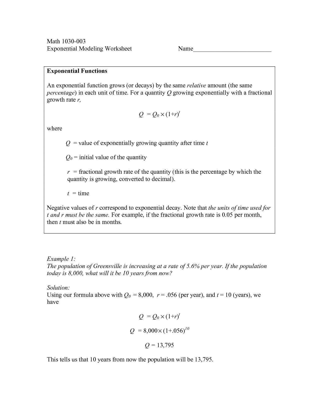 11 Best Images Of Function Of X Algebra Worksheets