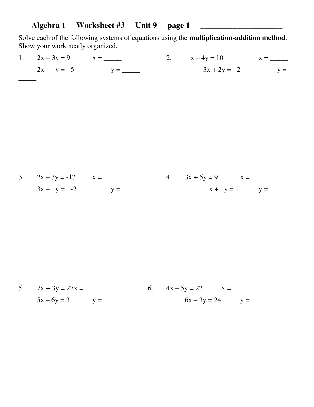 15 Best Images Of Sat Math Prep Worksheets