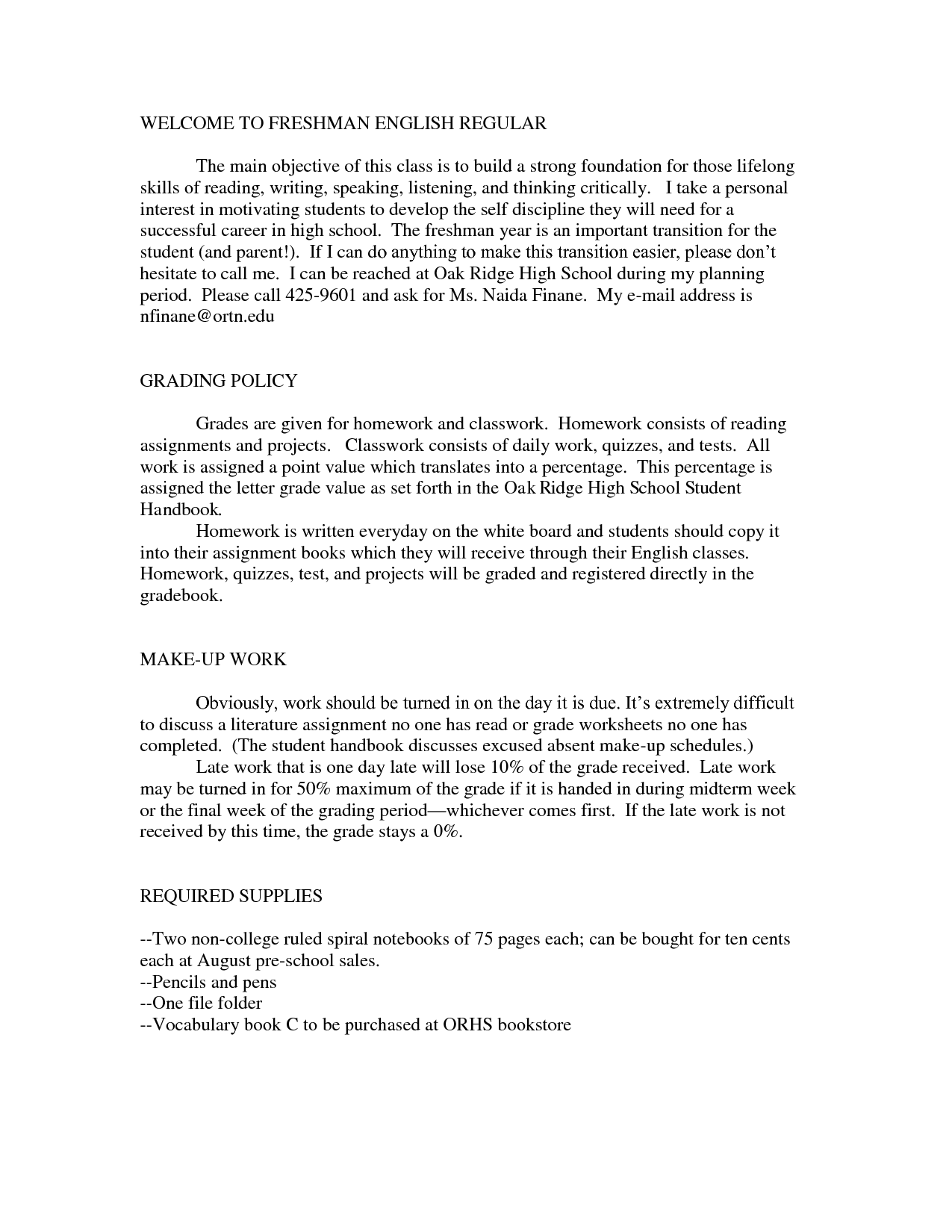 9th Grade Main Idea Worksheet