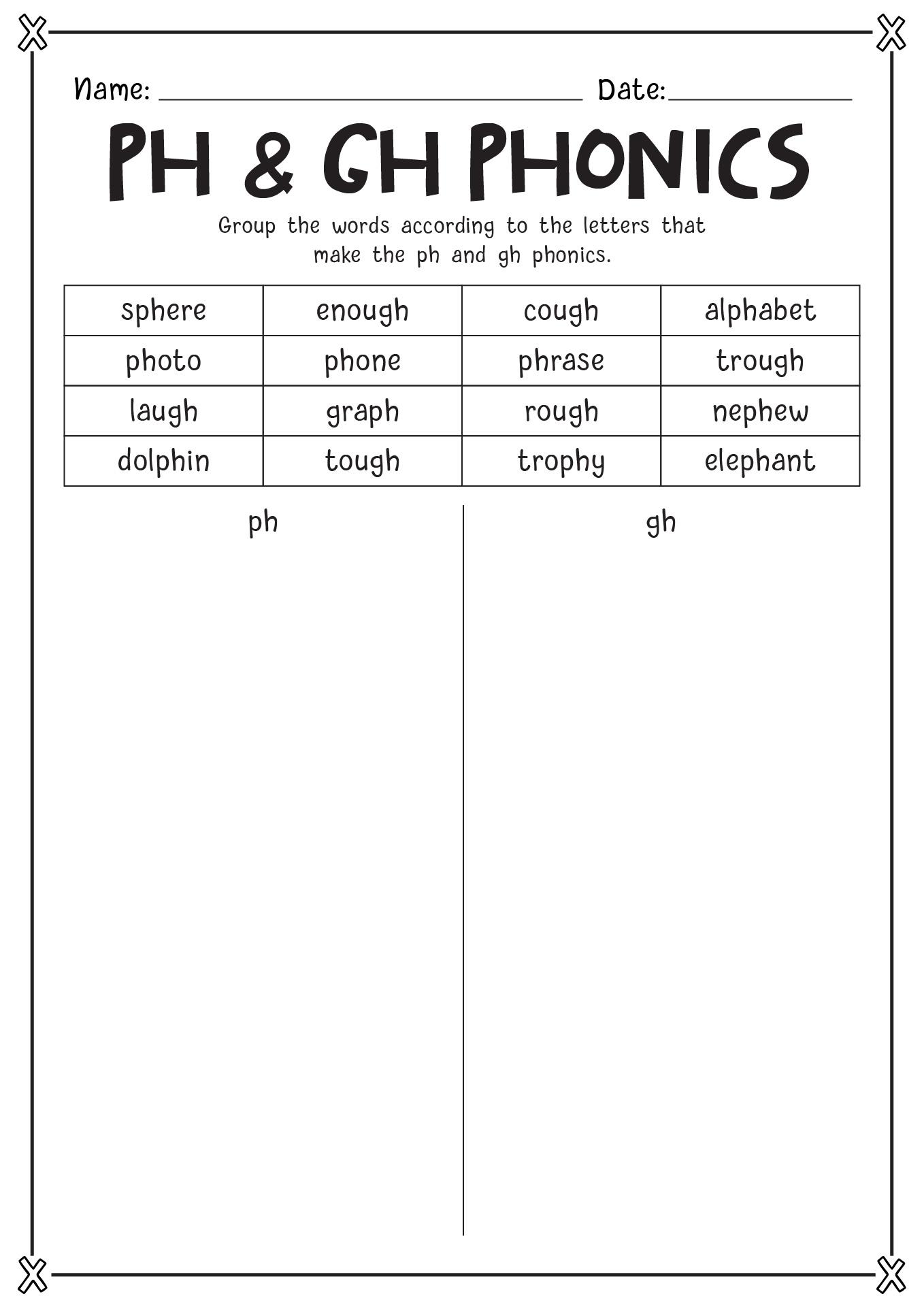 Tens Words Worksheet