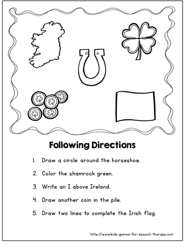 14 Best Images Of Christmas Speech And Language Worksheets