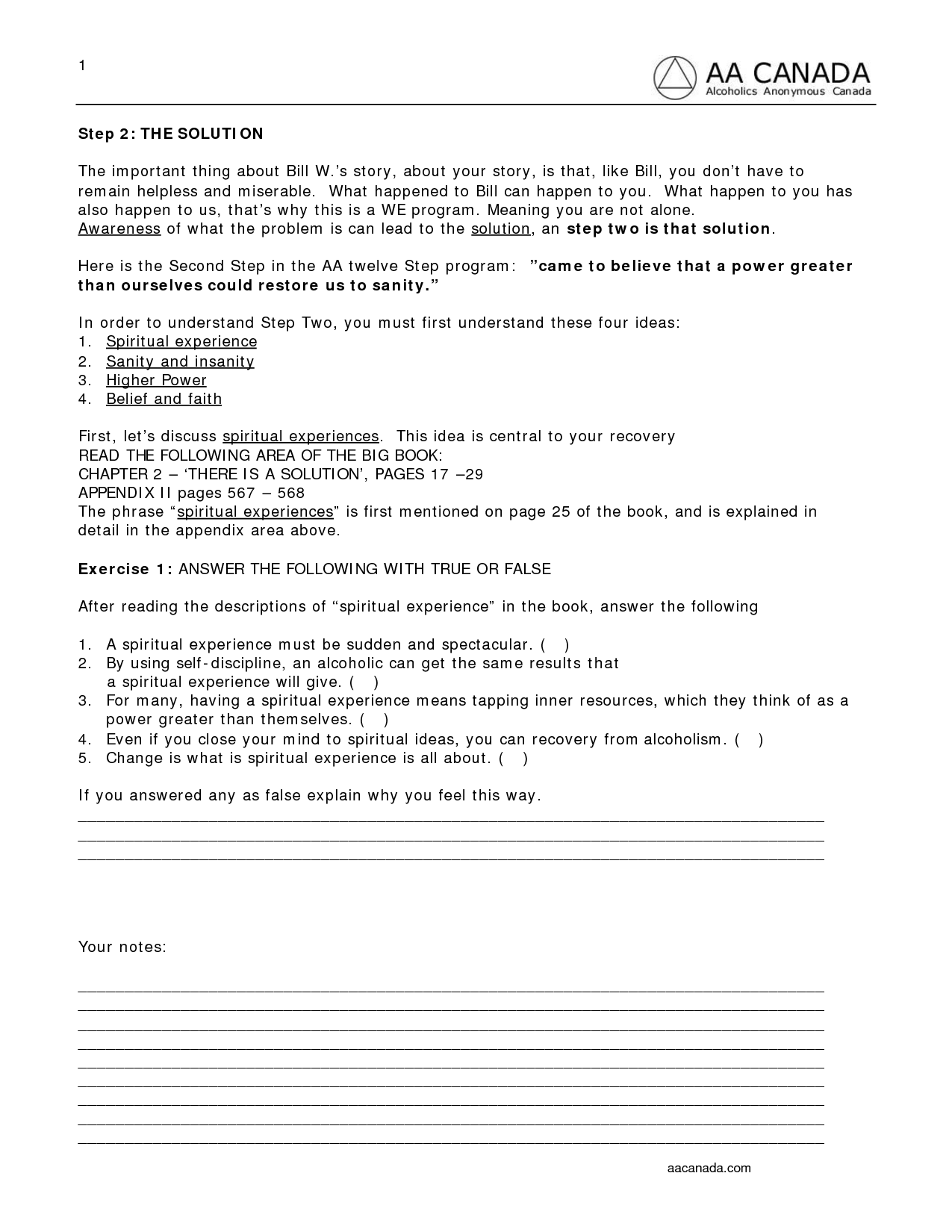 16 Best Images Of Women In Recovery Worksheets