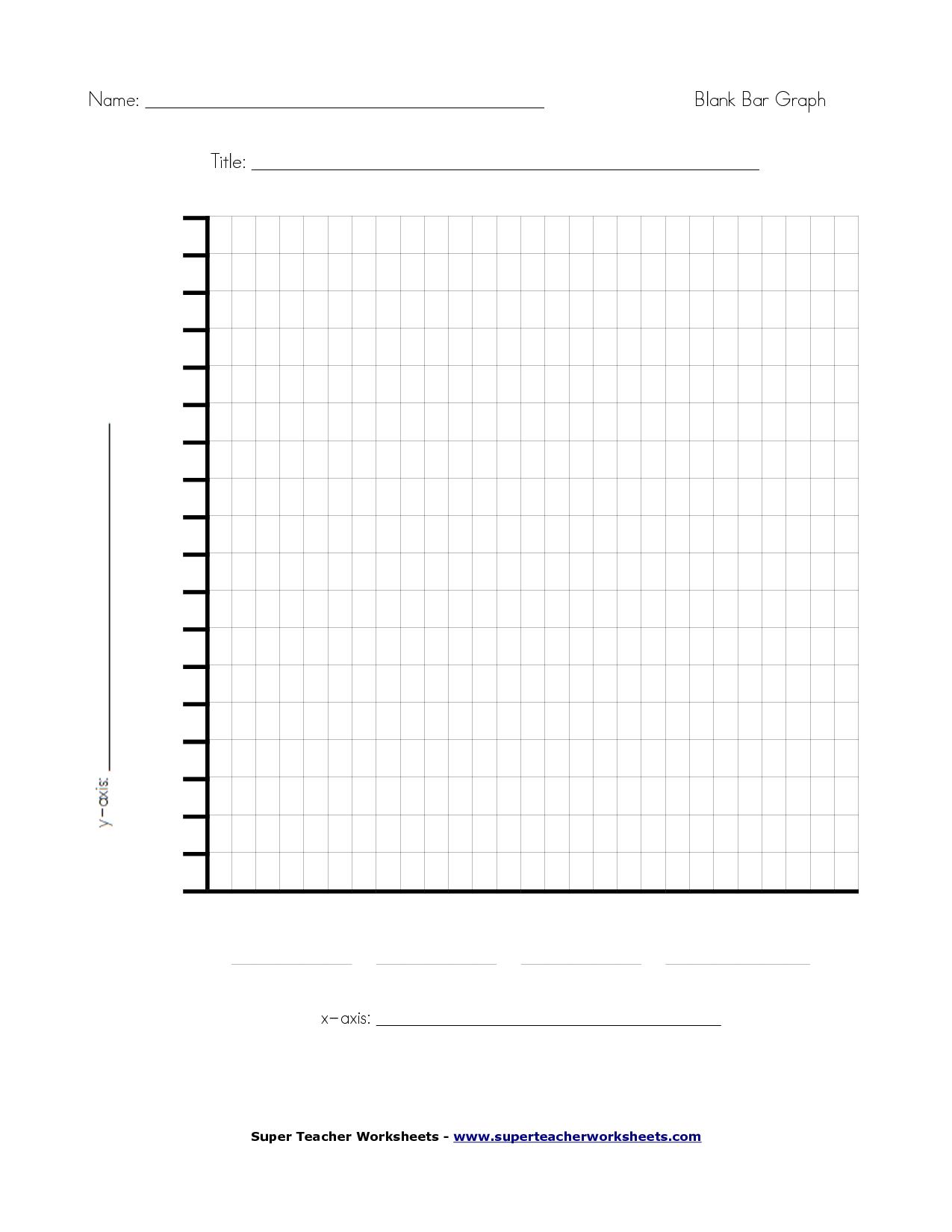 19 Best Images Of Super Teacher Worksheets Bar Graph
