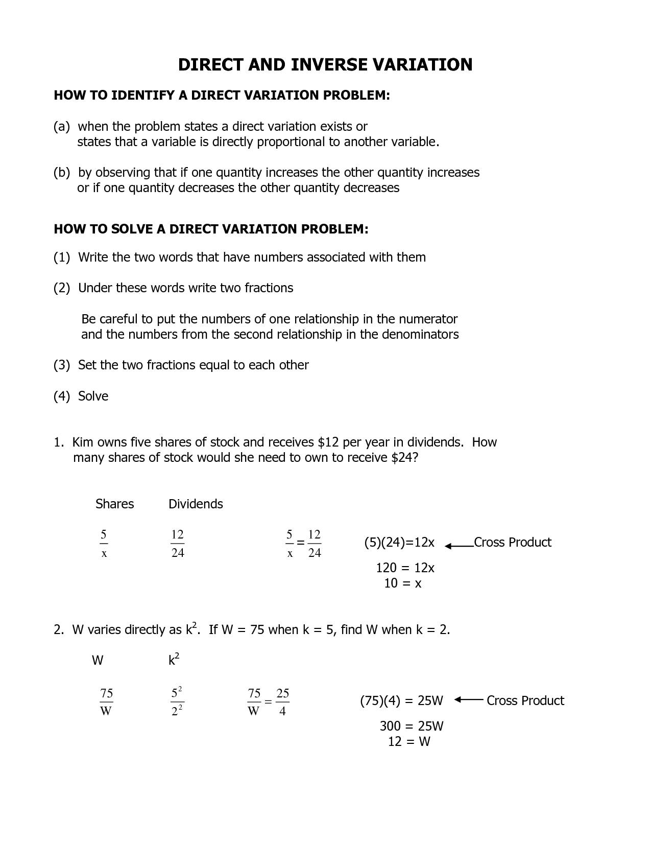 15 Best Images Of Inverse Math Worksheets