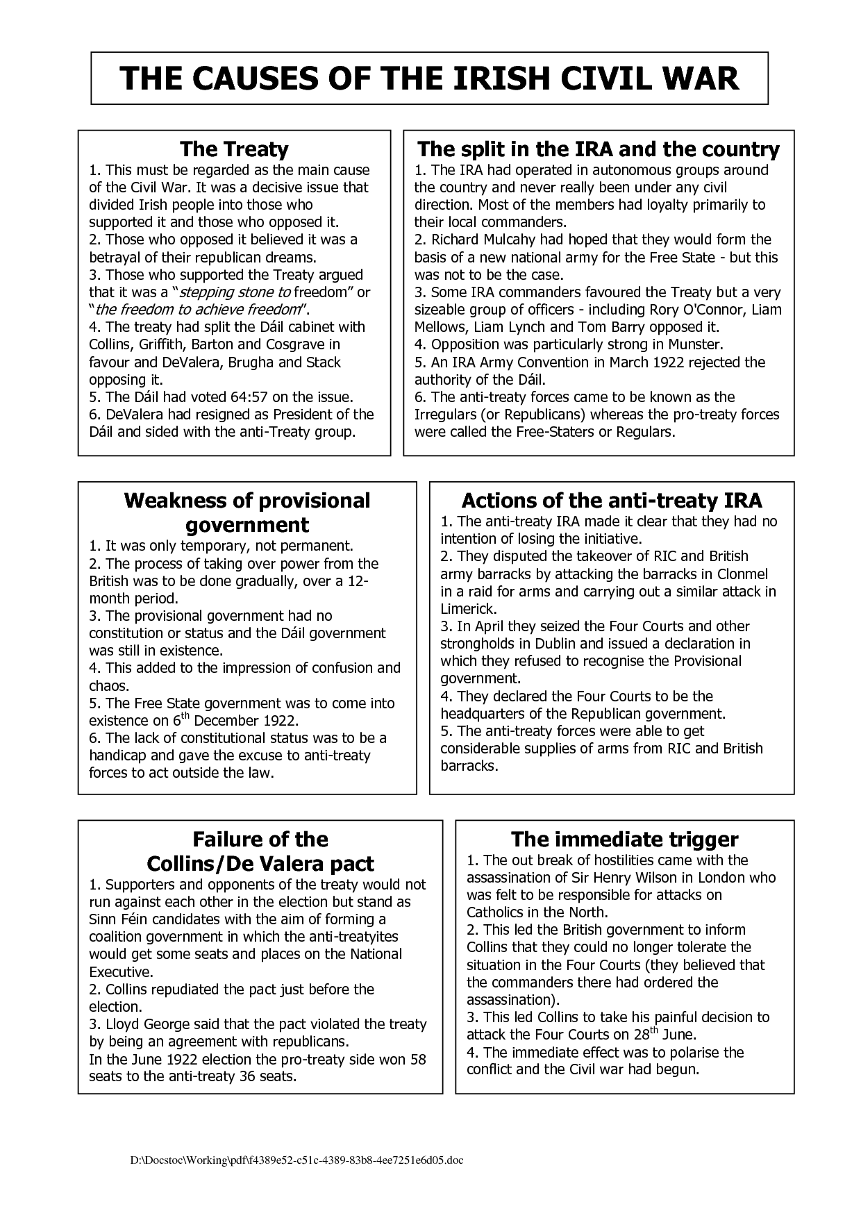 12 Best Images Of Civil War Worksheets 8th Grade