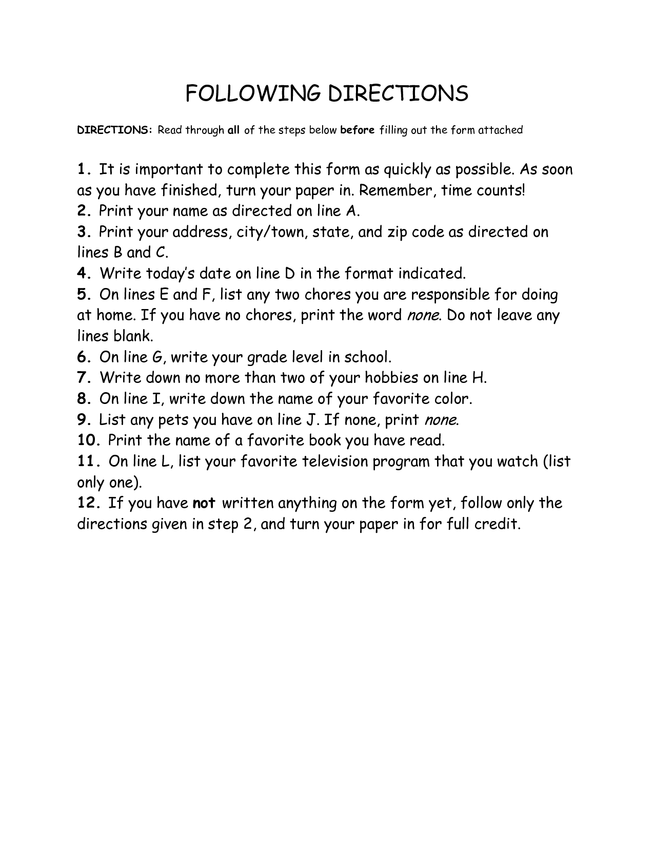 Other Worksheet Category Page 31
