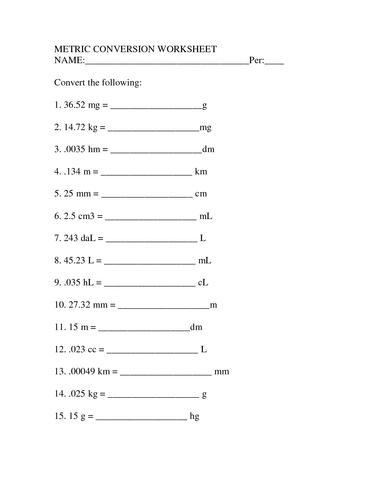 Math Worksheet Category Page 134