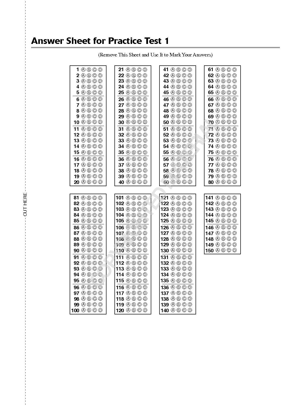 13 Best Images Of Free Printable Sat Math Practice