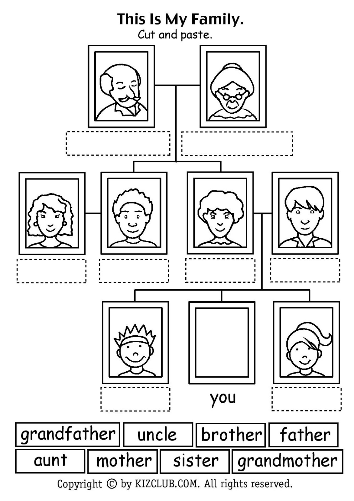 17 Best Images Of English And Spanish Worksheet Family