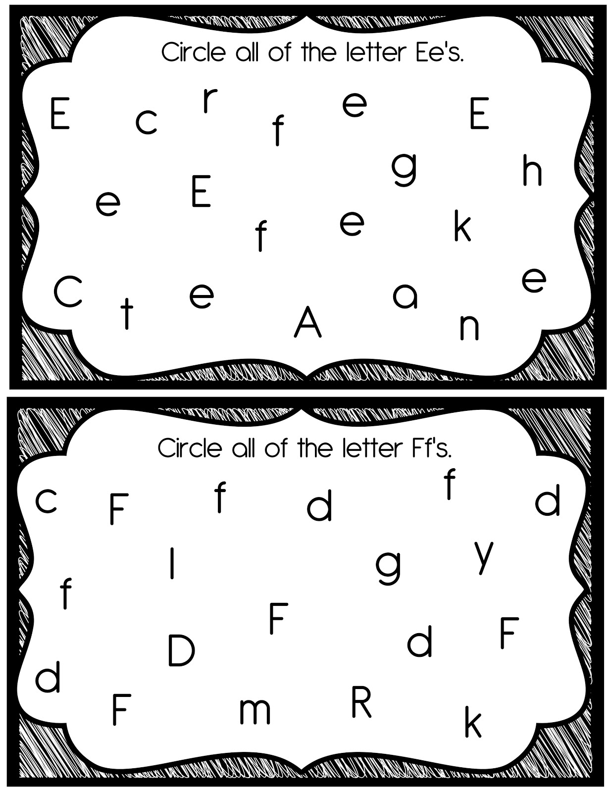 10 Best Images Of Visual Discrimination Worksheets Kindergarten
