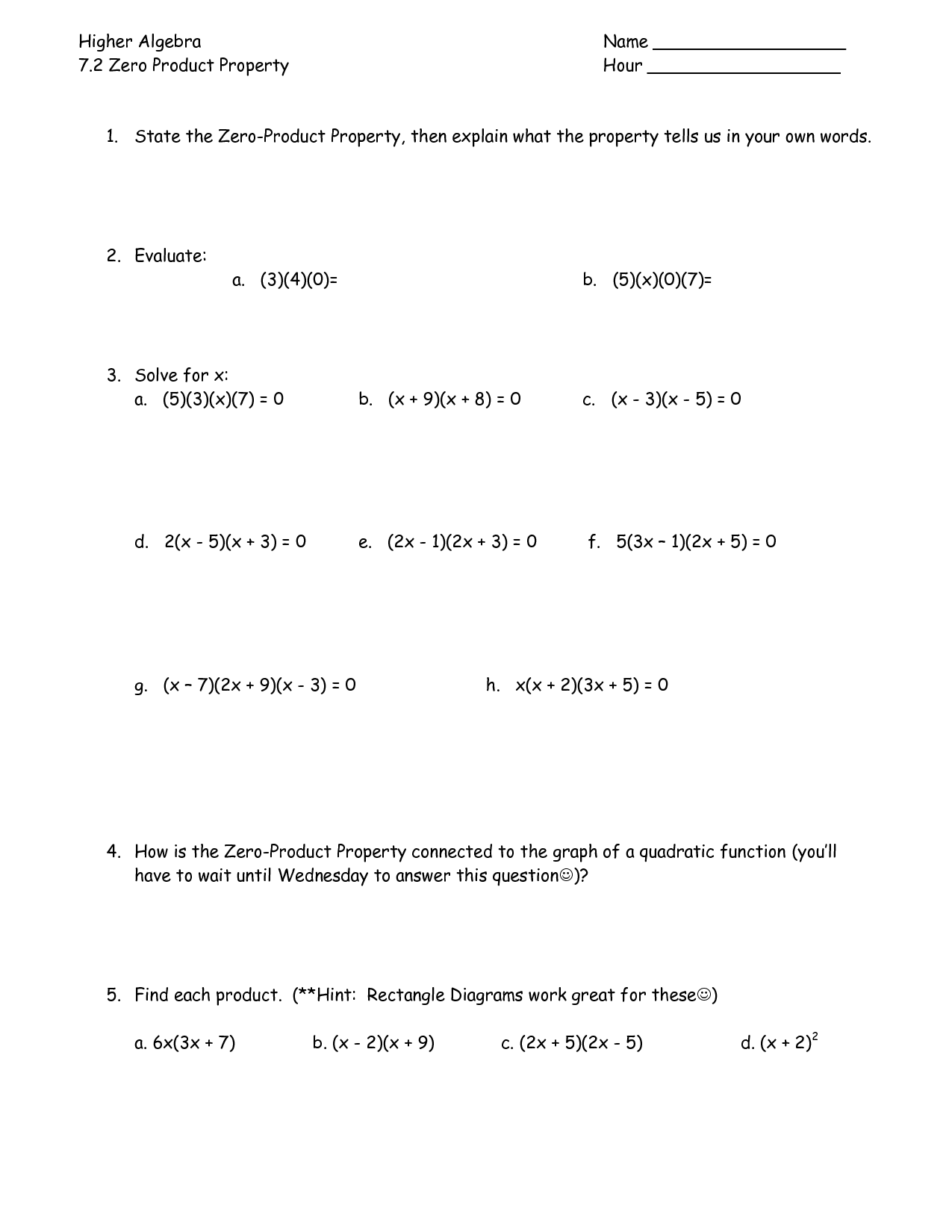 5 Best Images Of Matrix Multiplication Worksheet