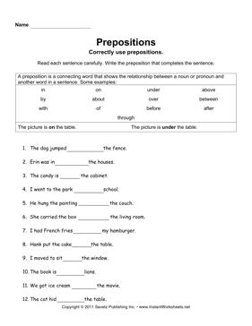 17 Best Images Of College Sentence Worksheet