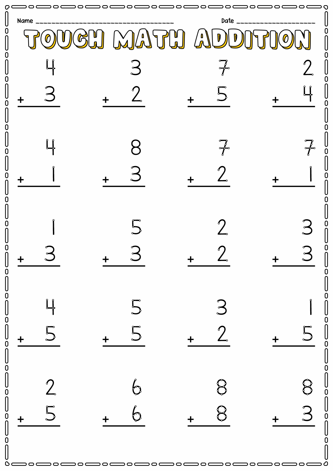 8 Best Images Of Math Worksheets Printable