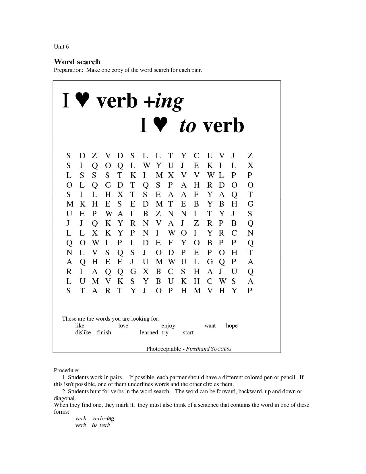 19 Best Images Of Linking Verb List Printable Worksheets