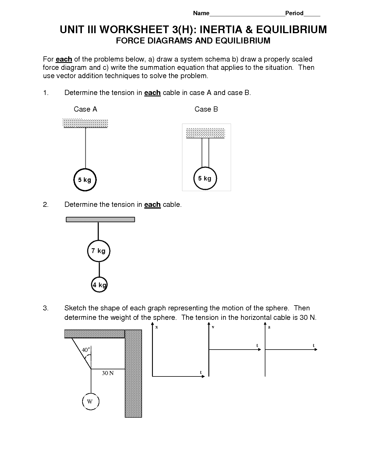 31 Hr Diagram Worksheet Middle School