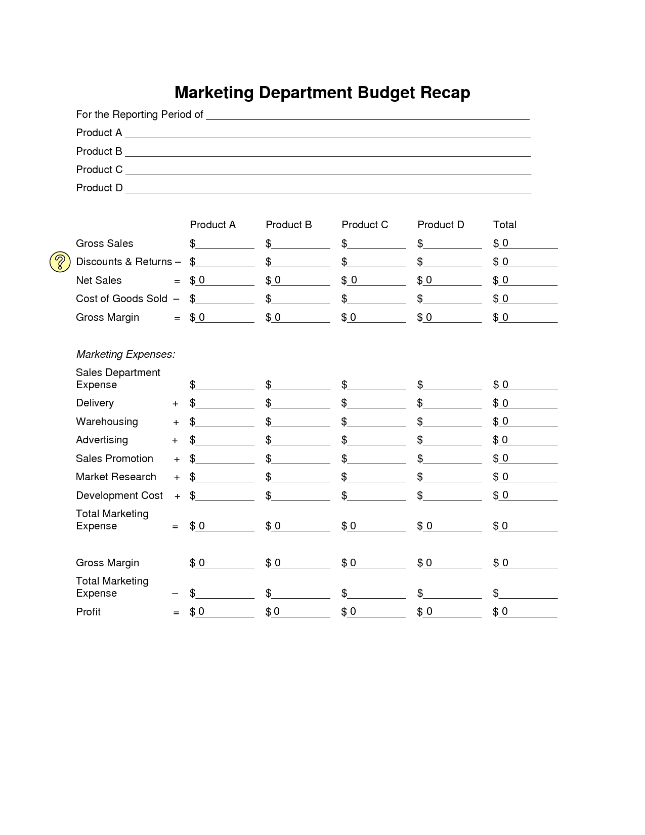 16 Best Images Of Sample Student Budget Worksheet