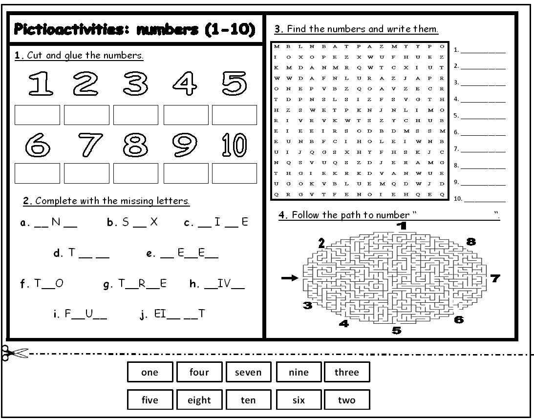 15 Best Images Of French Numbers 0 100 Worksheet