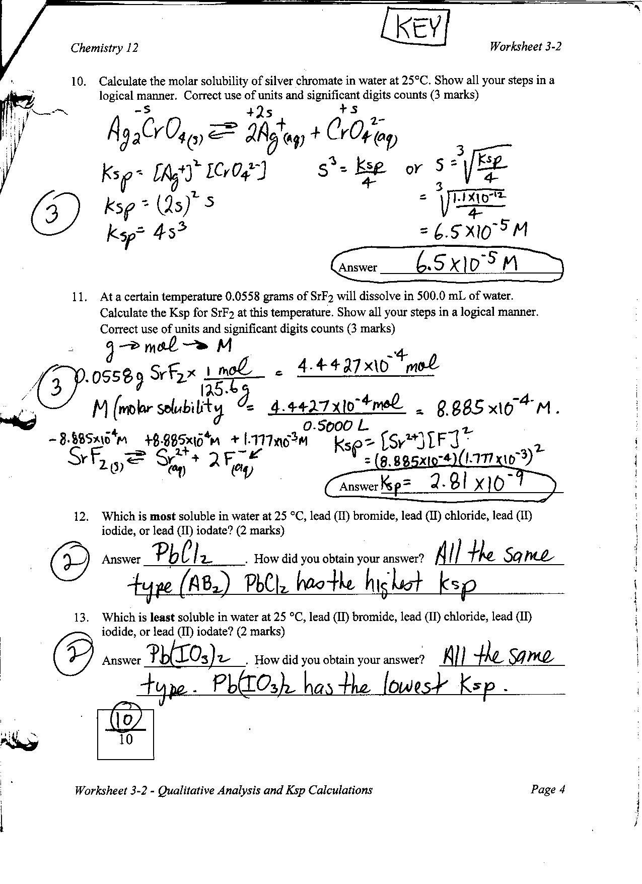 19 Best Images Of Chemfiesta Worksheet Answers