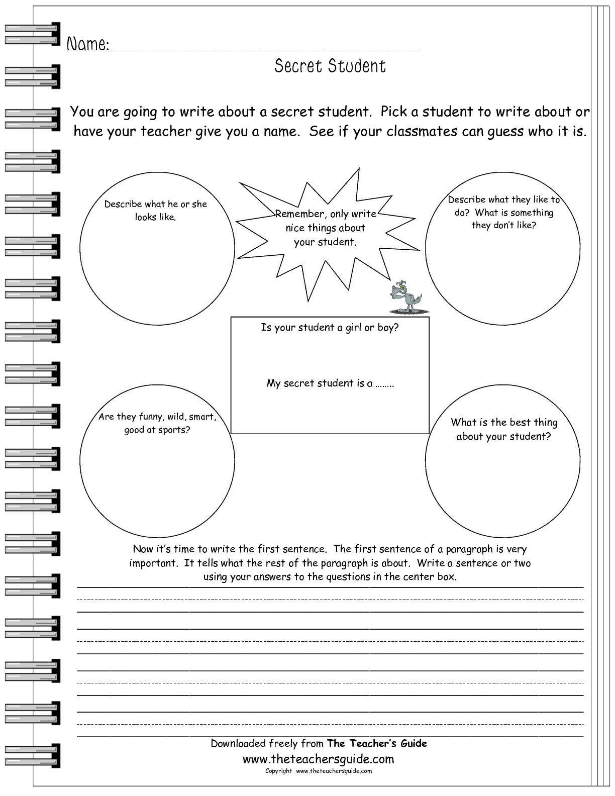 19 Best Images Of After Field Trip Worksheet