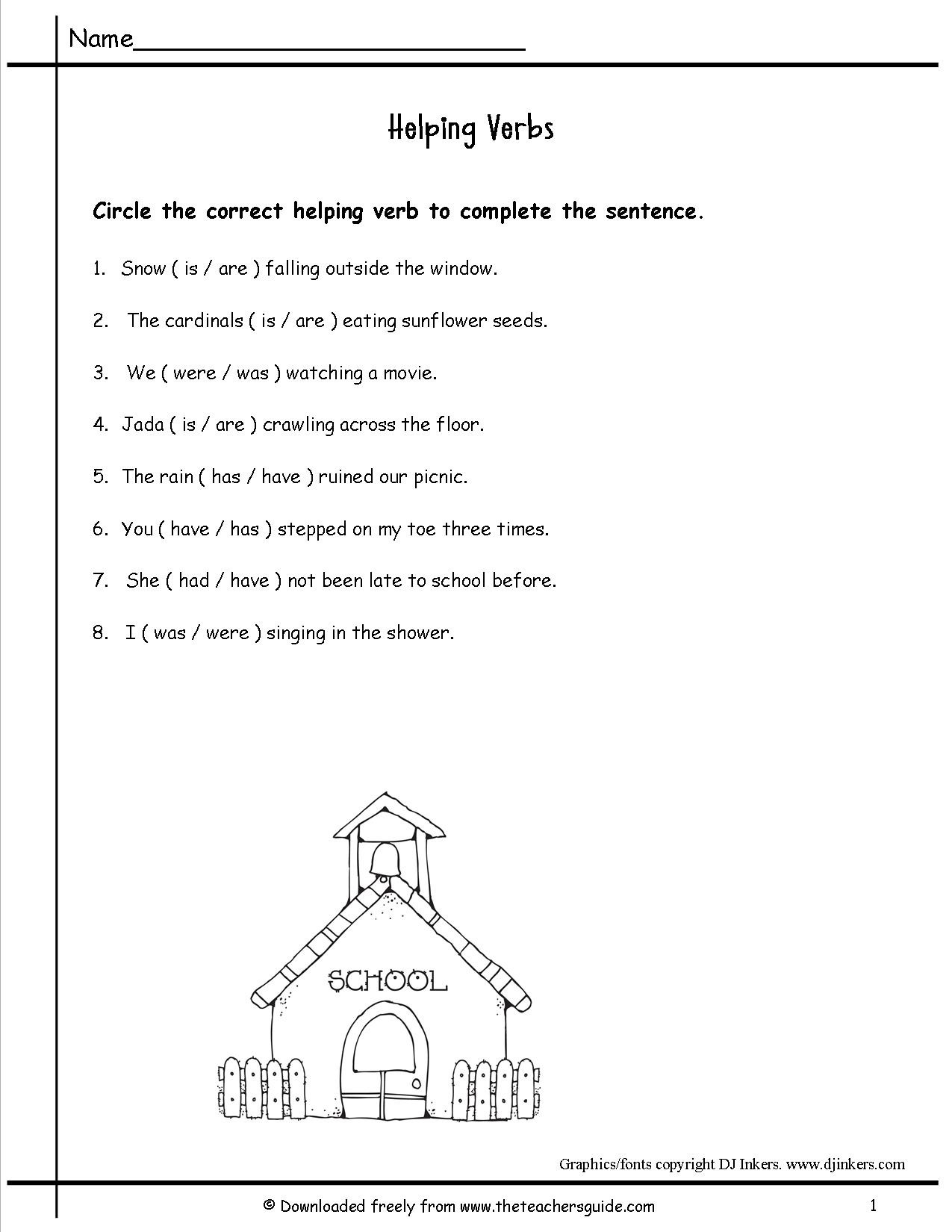 16 Best Images Of Action Verbs Kindergarten Worksheets