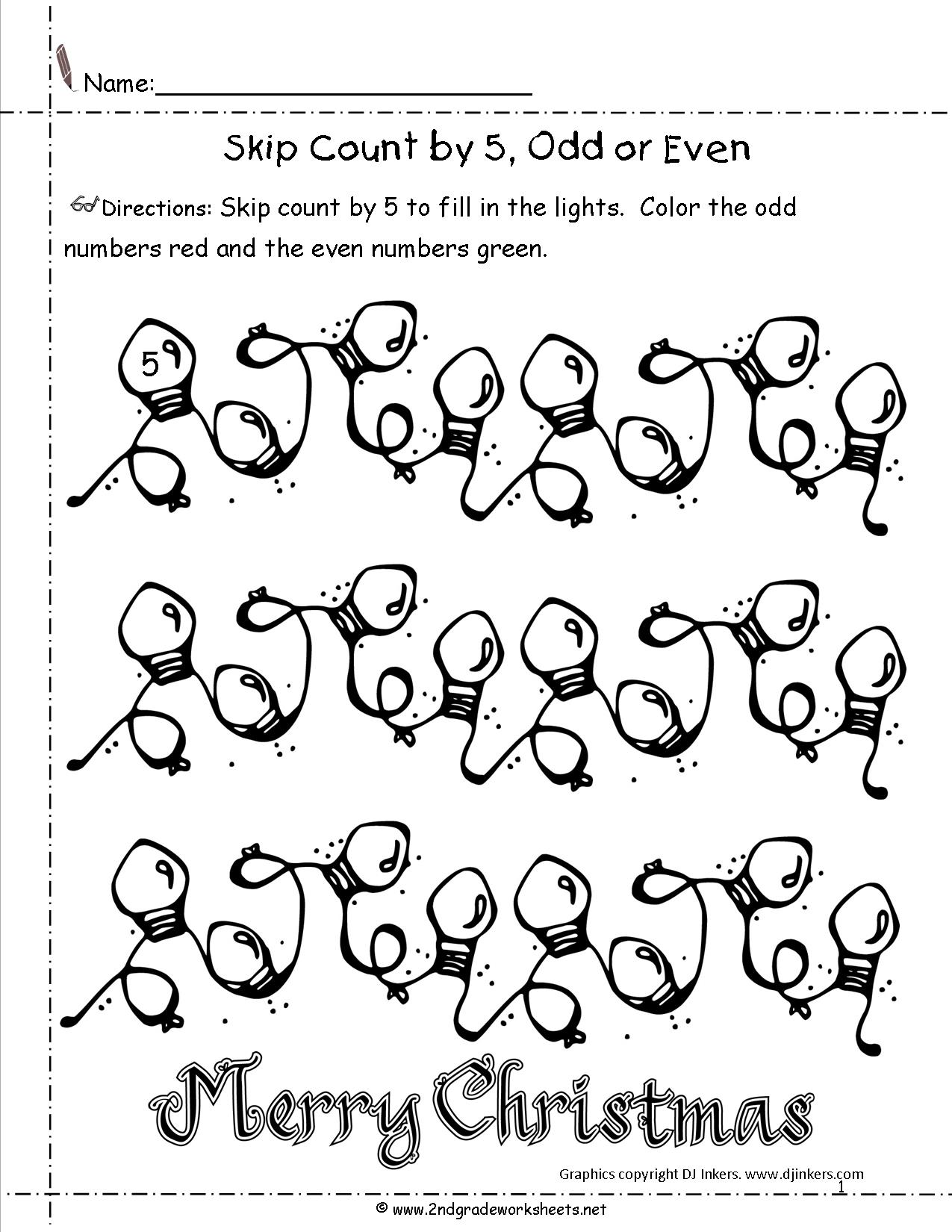 14 Best Images Of Christmas Counting Worksheets