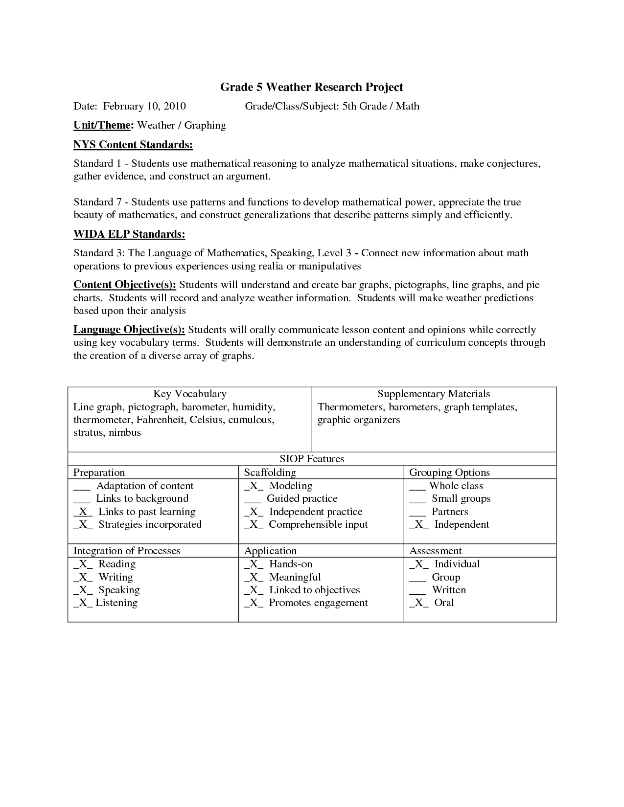 10 Best Images Of Reading Temperature Worksheets