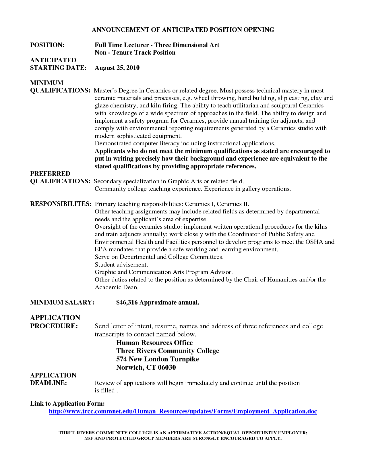 Resume Review Worksheet
