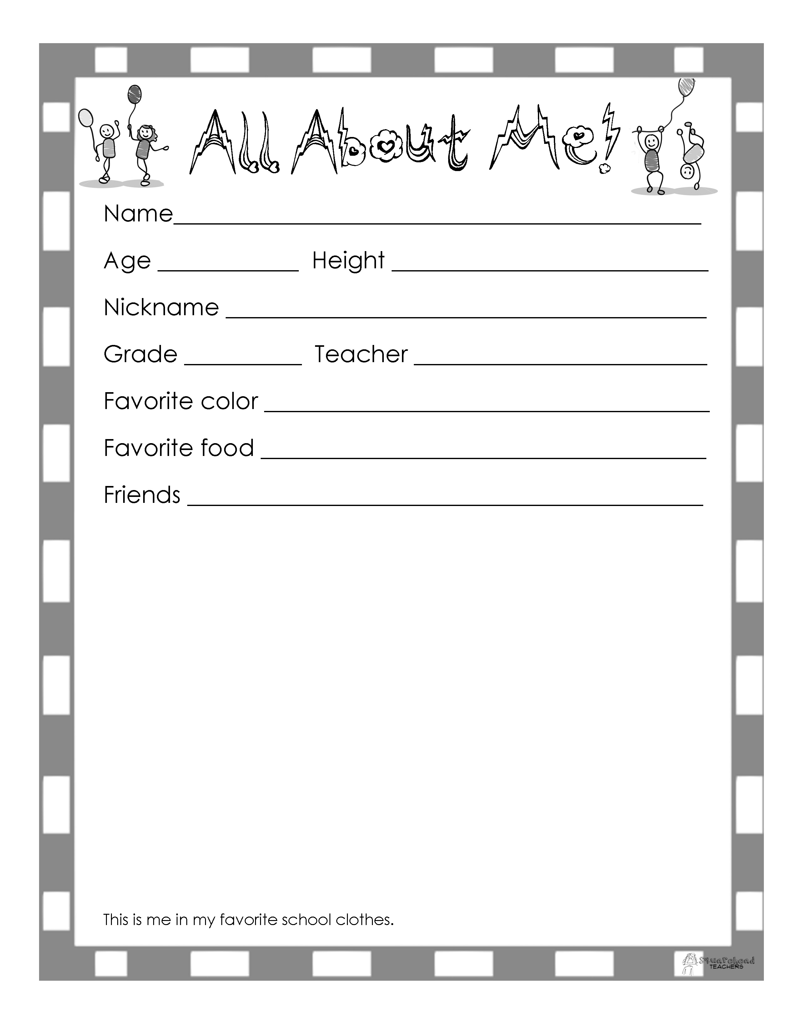 15 Best Images Of End Of Year Printable Worksheets