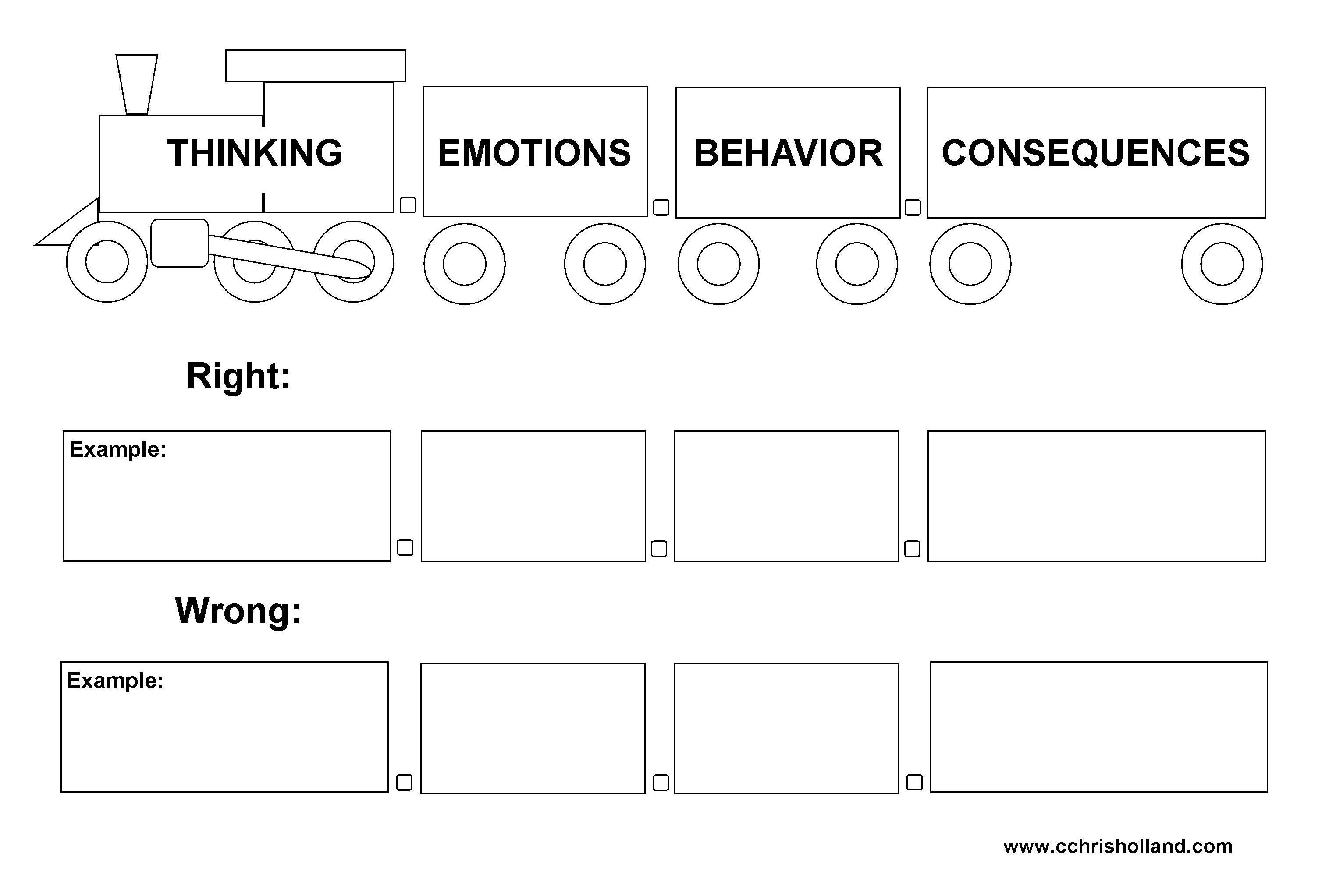 Anger Reflection Worksheet