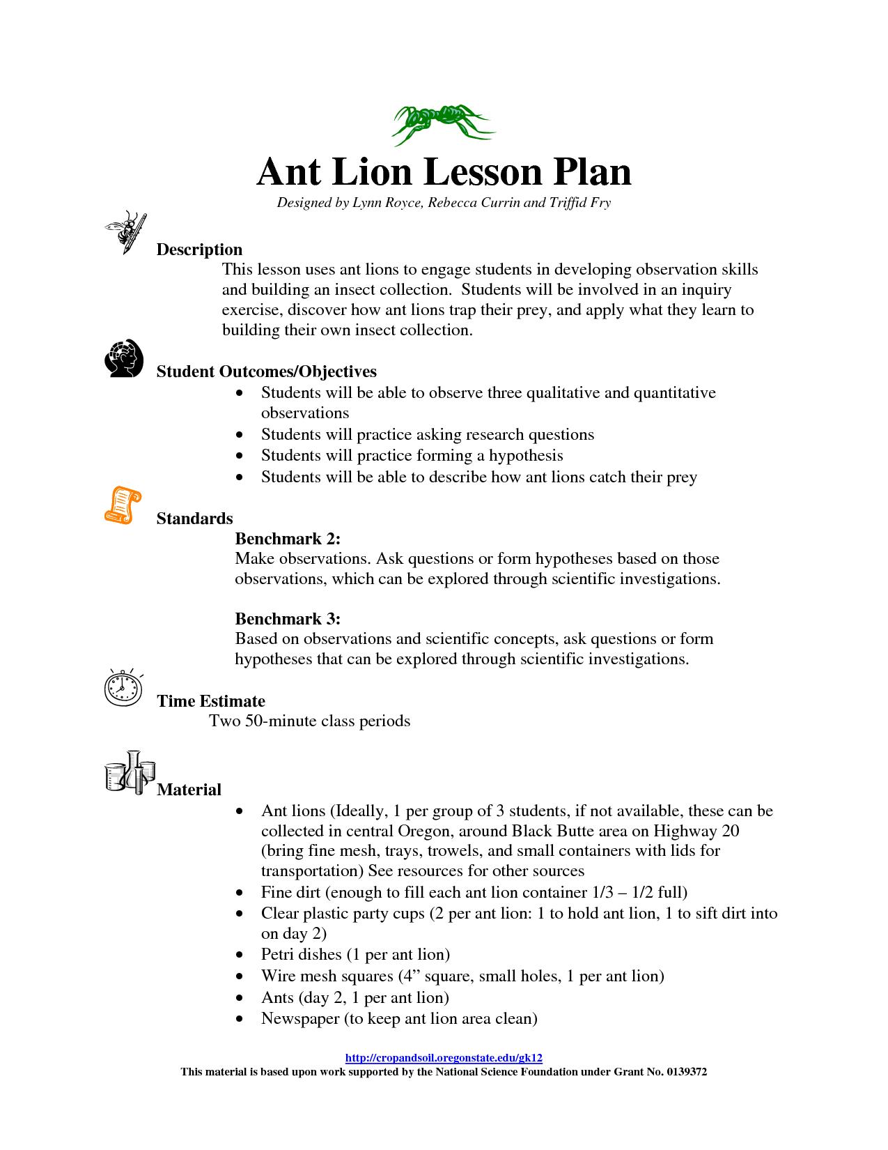 17 Best Images Of Ant Worksheets For Kindergarten