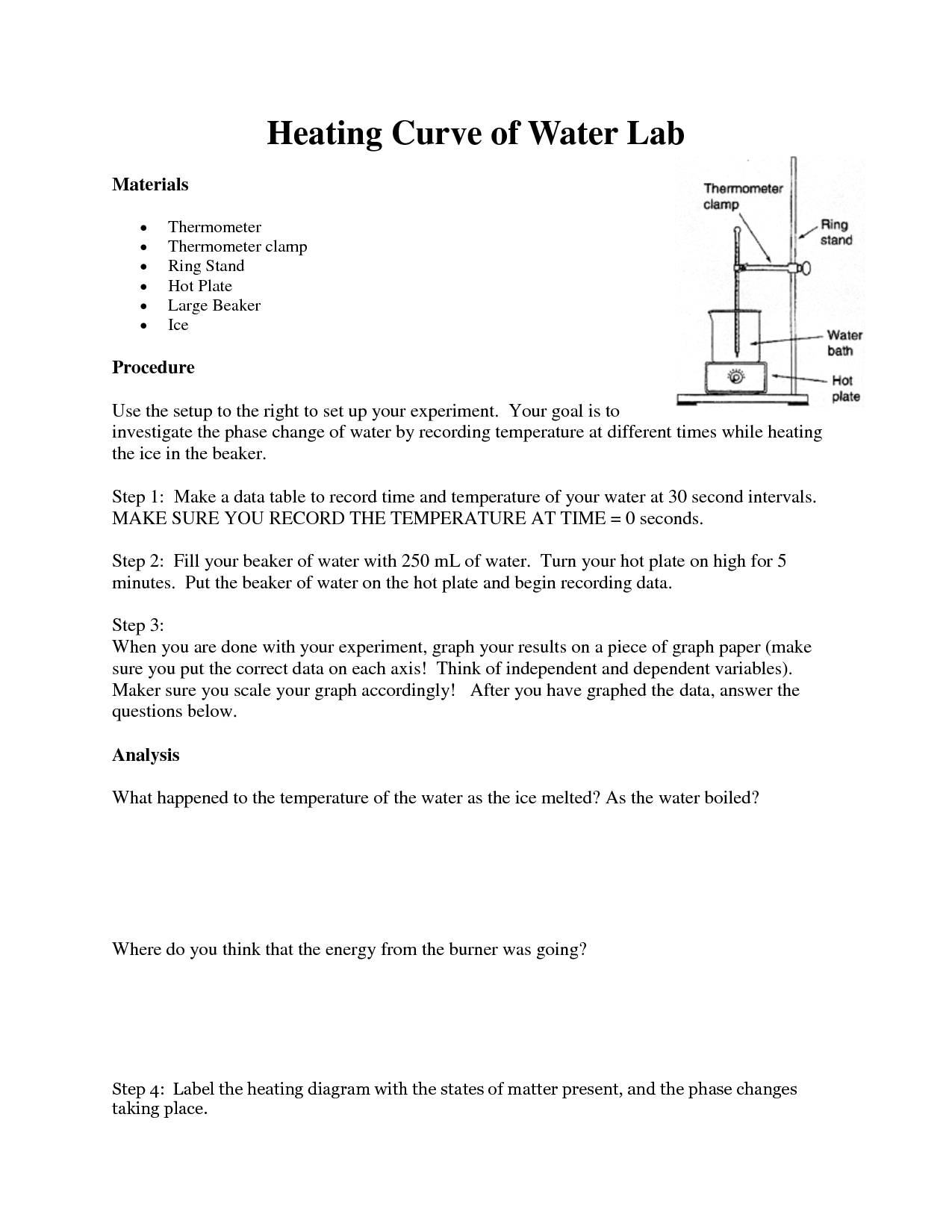 14 Best Images Of Temperature And Thermal Energy Worksheet