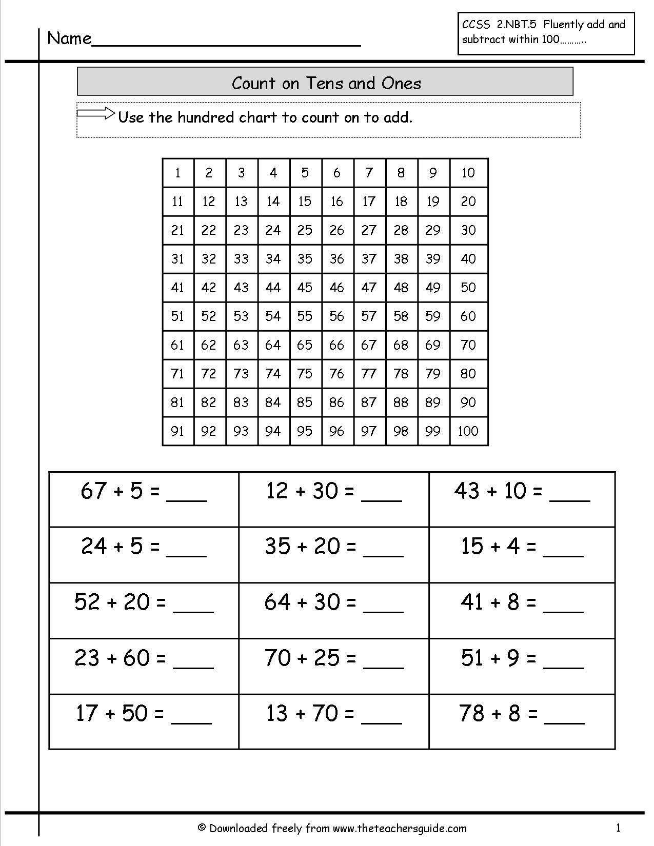 Egypt Math Worksheet