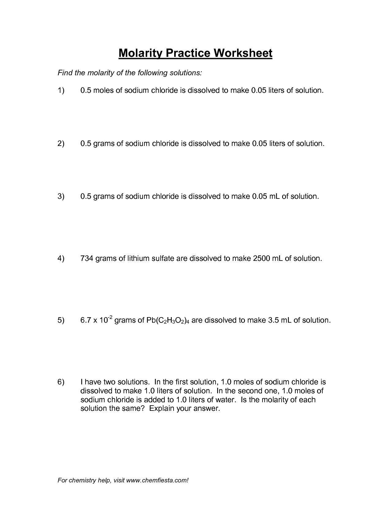 15 Best Images Of Solubility Worksheet High School