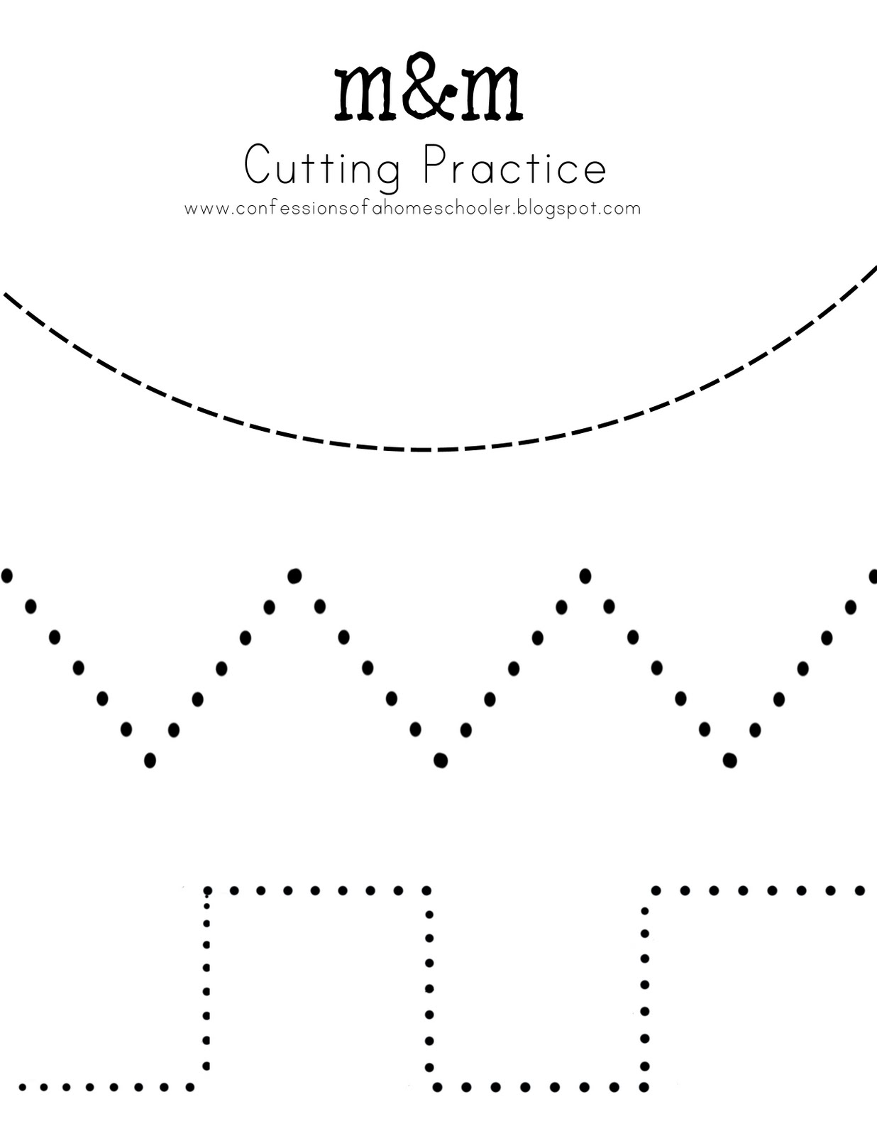 14 Best Images Of Preschool Cutting Skills Worksheets
